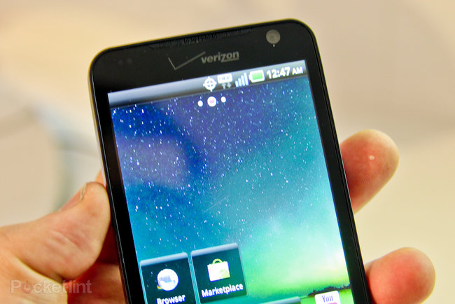 LG Revolution hands-on - photo 4