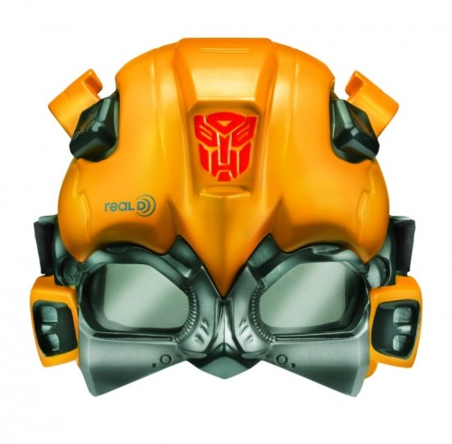 Transformers 3D glasses helmet for kids lets you watch 3D in disguise - photo 2
