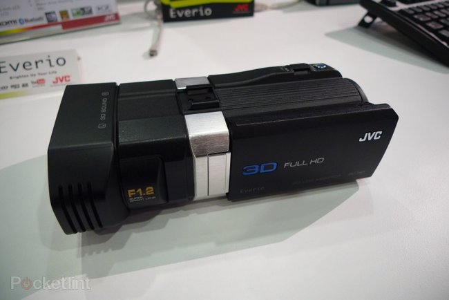JVC GS-TD1 hands-on - photo 1