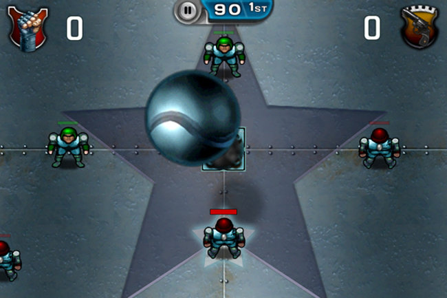 Speedball 2: Evolution iPad / iPhone hands-on - photo 1