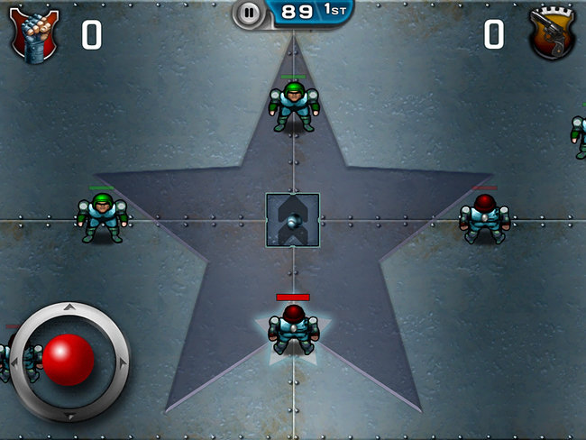 Speedball 2: Evolution iPad / iPhone hands-on - photo 16