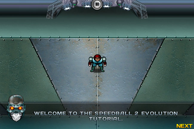 Speedball 2: Evolution iPad / iPhone hands-on - photo 29