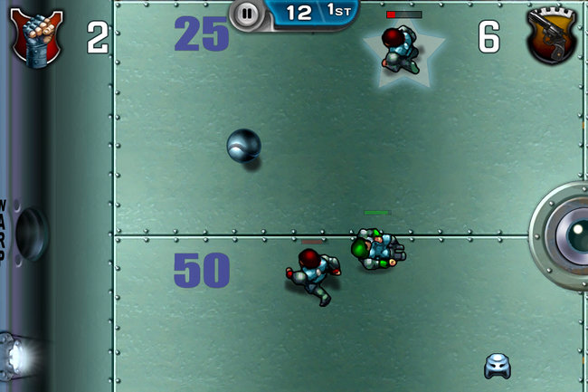 Speedball 2: Evolution iPad / iPhone hands-on - photo 35
