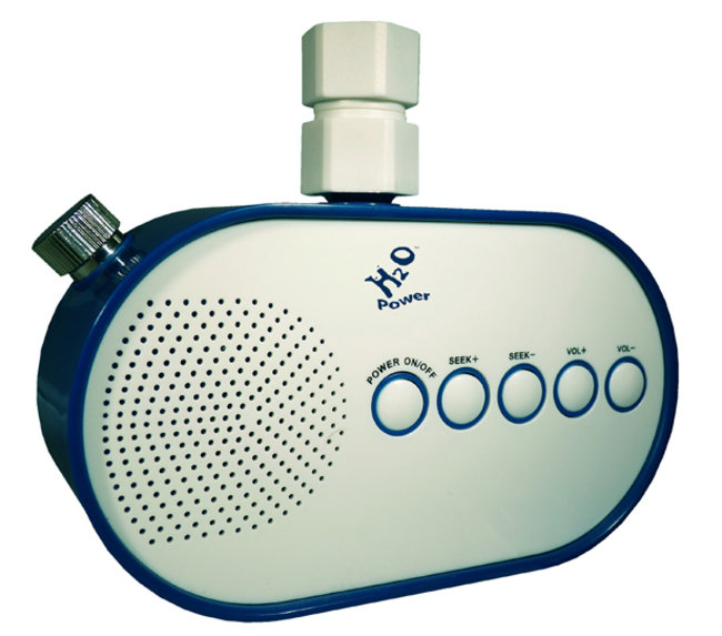 H2O Shower Powered Radio is world's first - photo 2