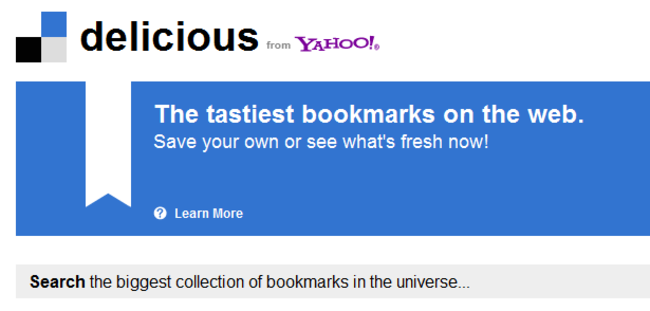 Bookmarking not so Delicious for Yahoo - photo 2