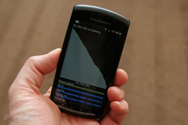 6 hrs 26 mins and 43 secs with the Xperia Play   - photo 1