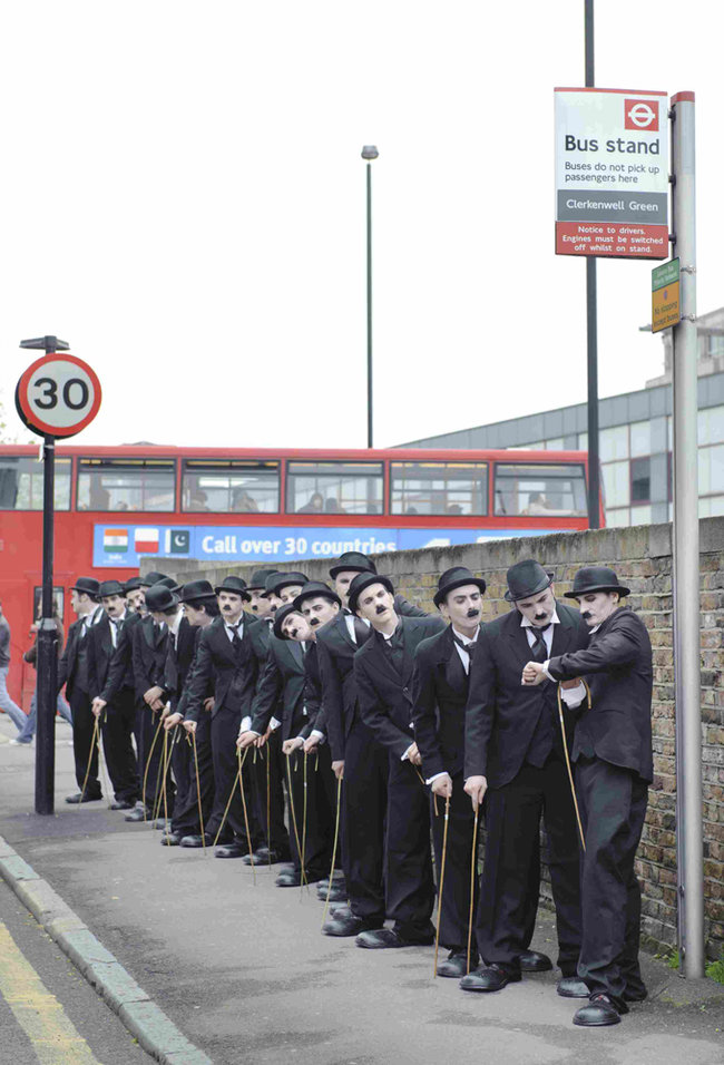 Virgin Media adds Sky Arts HD to line-up and fills London streets with tramps - photo 8