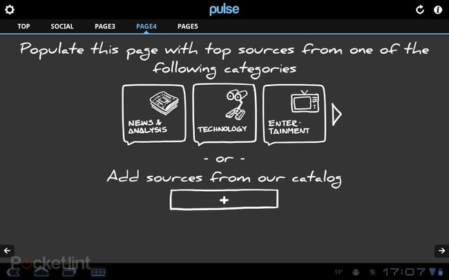 APP OF THE DAY: Pulse review (Android Honeycomb)   - photo 2