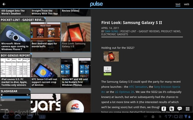 APP OF THE DAY: Pulse review (Android Honeycomb)   - photo 9