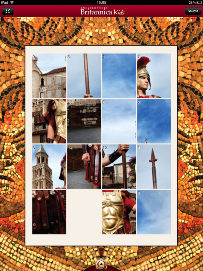APP OF THE DAY: Britannica Kids - Ancient Rome review (iPad) - photo 8