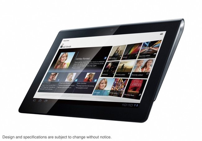 Sony S1 and S2 Android tablets official, coming Autumn 2011 (video) - photo 2