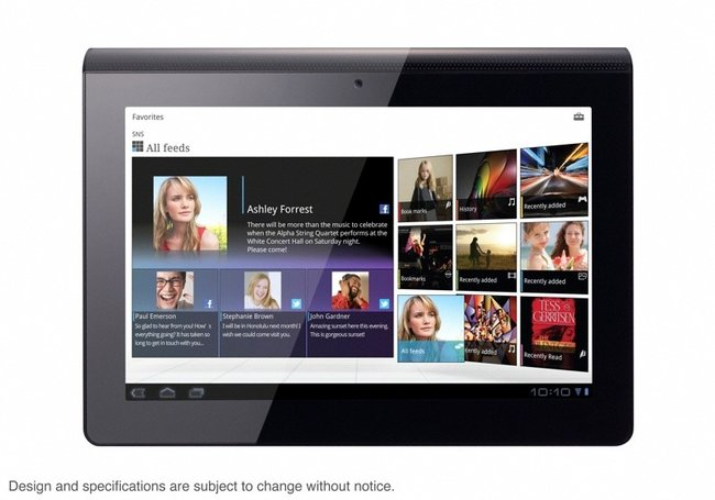 Sony S1 and S2 Android tablets official, coming Autumn 2011 (video) - photo 3