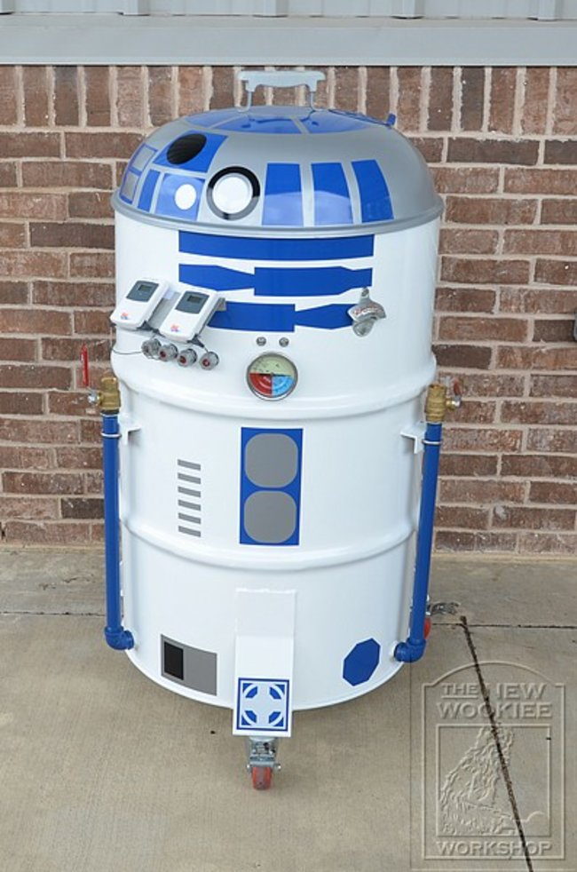 Star Wars: R2-D2 BBQ - photo 2