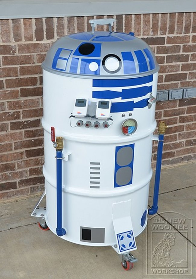 Star Wars: R2-D2 BBQ - photo 4