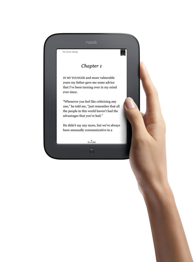 All-new Nook touches down for a spot of reading - photo 5