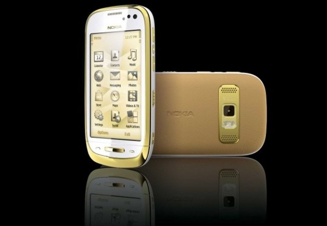 Nokia Oro: A C7 with added bling - photo 1
