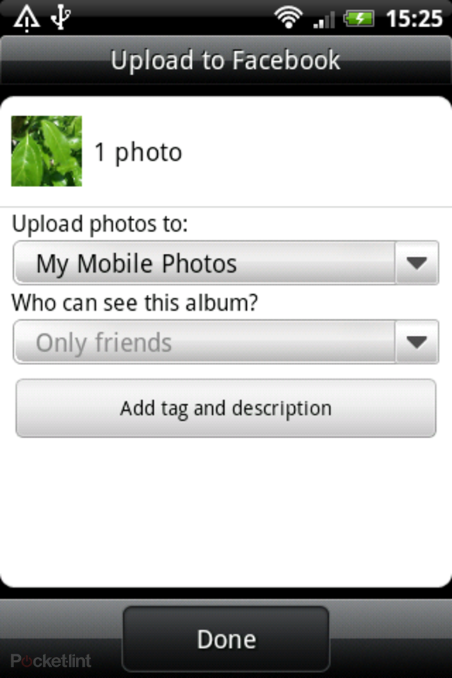 HTC Salsa: Facebook features explored - photo 19