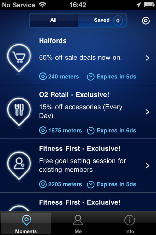 APP OF THE DAY: O2 Priority Moments review (iPhone and Android) - photo 4