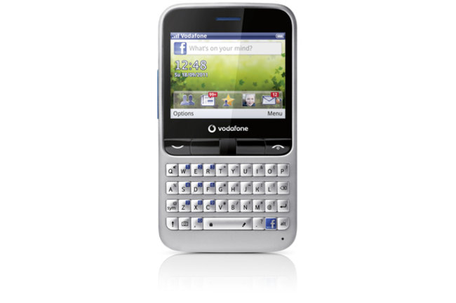 Vodafone 555 Blue - world's first prepay-only Facebook phone - photo 2