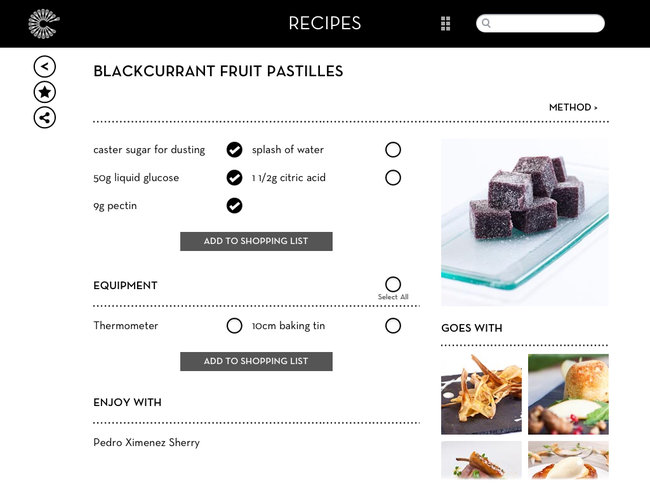 APP OF THE DAY: Great British Chefs - Recipes review (iPad / iPhone) - photo 3