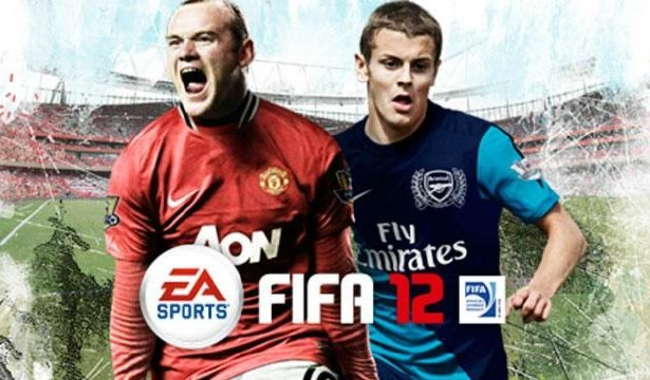Rooney and Wilshere get FIFA 12 cover honours - photo 1