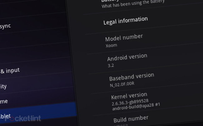 SD cards rejoice as Android 3.2 lands on Motorola Xoom   - photo 1