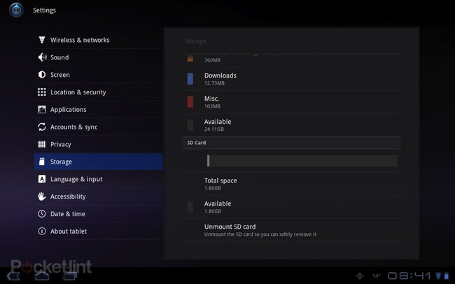 SD cards rejoice as Android 3.2 lands on Motorola Xoom   - photo 3