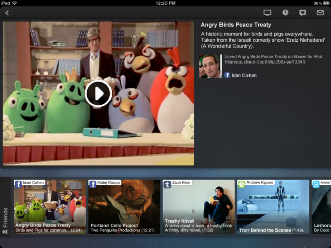 Boxee iPad app finally hits the App Store - photo 3