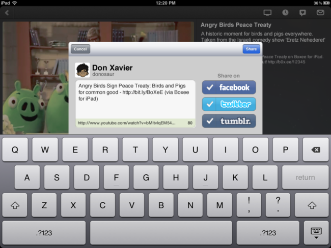 Boxee iPad app finally hits the App Store - photo 4