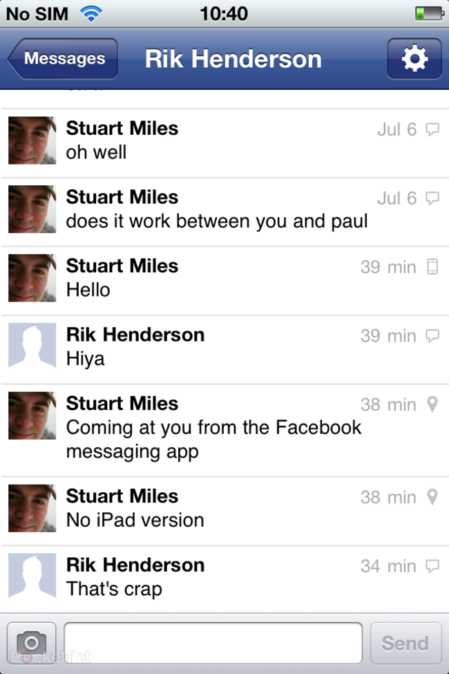 APP OF THE DAY: Facebook Messenger review (iOS) - photo 8
