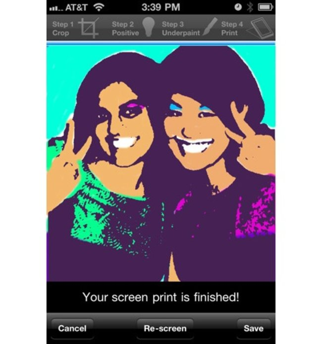 APP OF THE DAY - The Warhol: D.I.Y. POP (iPhone) - photo 2