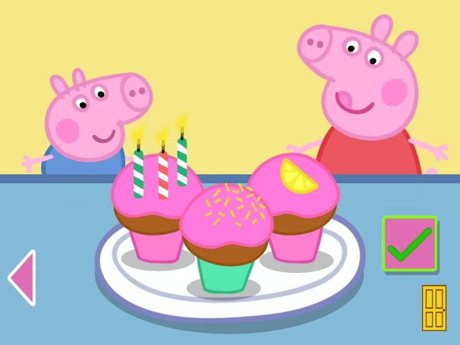 APP OF THE DAY: Peppa Pig's Party Time review (iOS) - photo 14