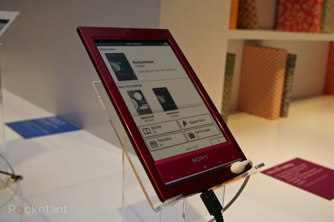 Sony Reader Wi-Fi pictures and hands-on - photo 10