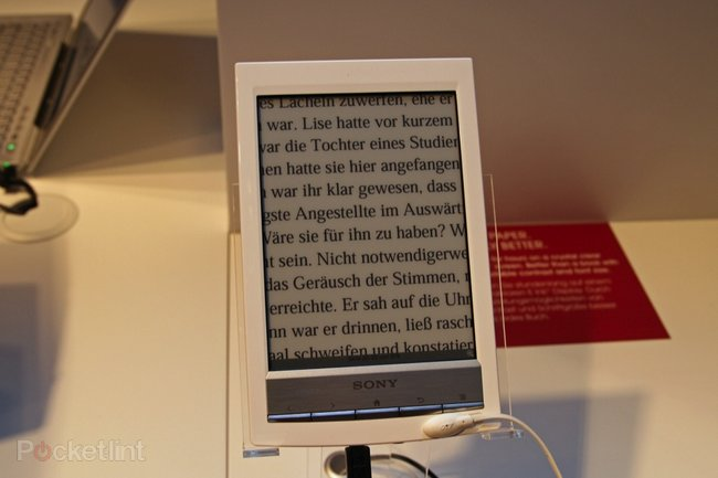Sony Reader Wi-Fi pictures and hands-on - photo 8