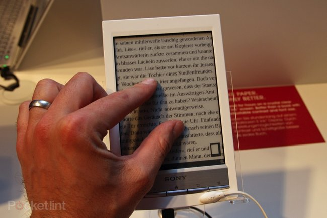 Sony Reader Wi-Fi pictures and hands-on - photo 9