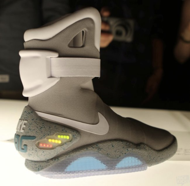 Nike Air Mag Back To The Future Limited Edition shoes officially released, available on eBay - photo 1