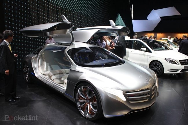 Mercedes-Benz F125 Concept pictures and hands-on, with video - photo 3