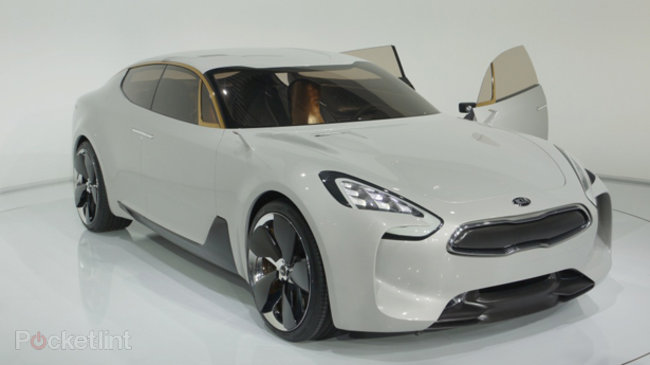 Kia GT Concept pictures and hands-on, with video   - photo 1