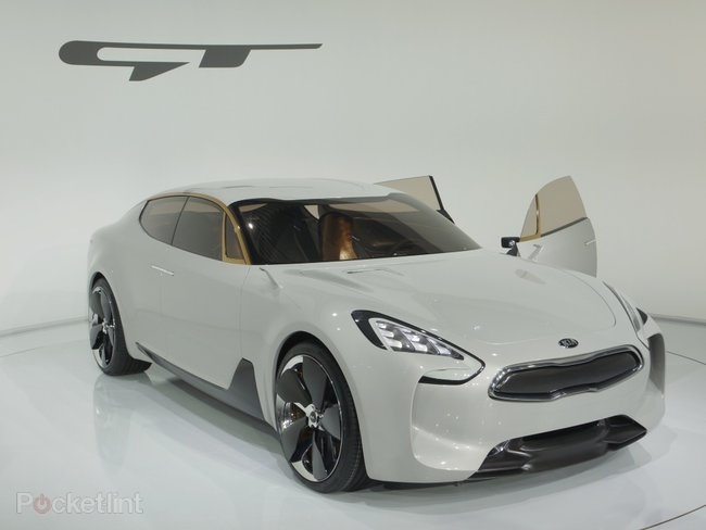 Kia GT Concept pictures and hands-on, with video   - photo 2