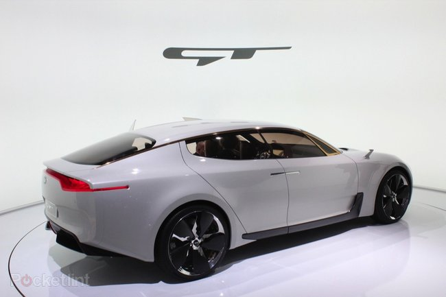Kia GT Concept pictures and hands-on, with video   - photo 5