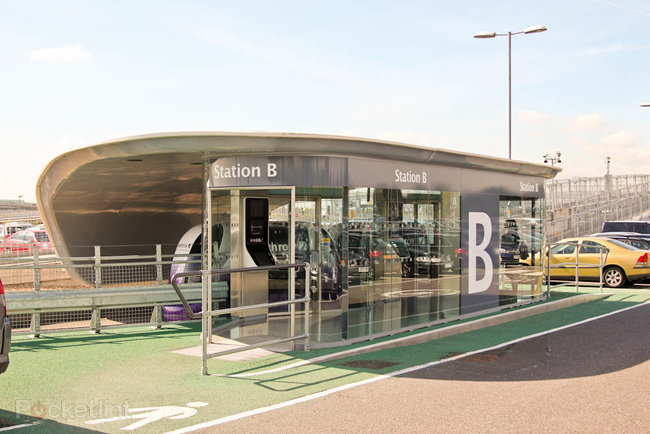 Taking a ride on Heathrow's ULTra Personal Rapid Transit System - photo 2