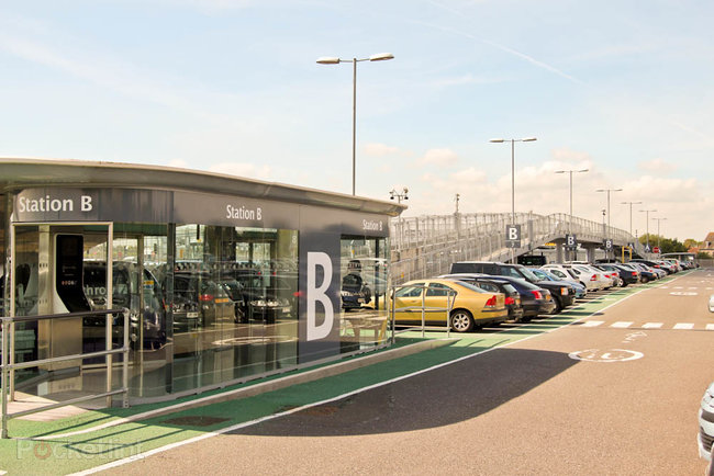 Taking a ride on Heathrow's ULTra Personal Rapid Transit System - photo 3