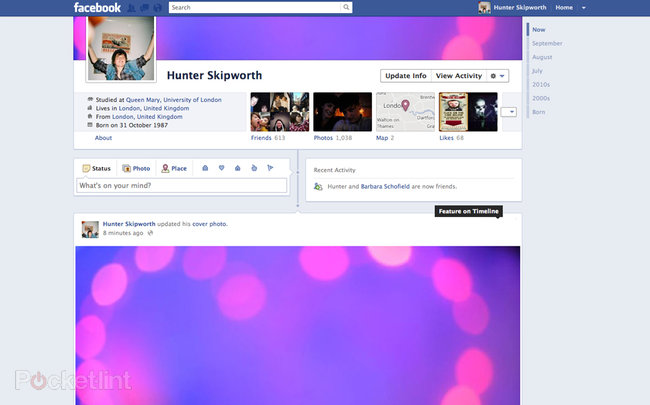 Facebook explored: New design features explained - photo 2