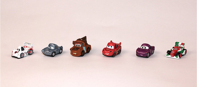 iPad becomes virtual play mat with Cars 2 Disney Appmates - photo 3