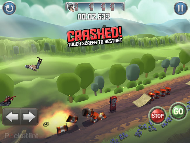APP OF THE DAY: Bike Baron review (iPad / iPhone / iPod touch) - photo 11