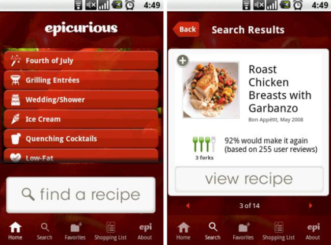 Best Android cooking apps - photo 1