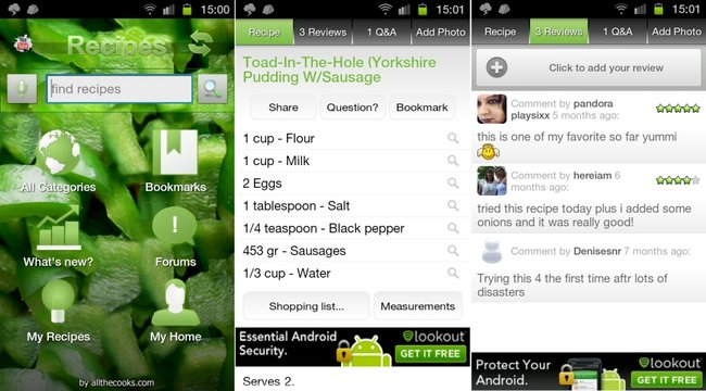 Best Android cooking apps - photo 4