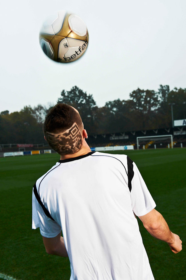 Bromley FC to sport Betfair QR code haircuts for FA Cup clash - photo 2