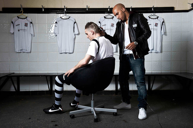 Bromley FC to sport Betfair QR code haircuts for FA Cup clash - photo 3