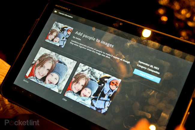 Adobe Photoshop Touch for Android pictures and hands-on - photo 7